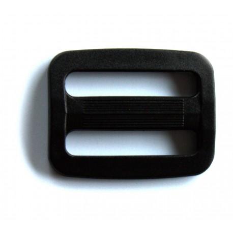 Passant Doucle noir 20 mm