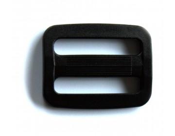 Passant Double noir 30 mm