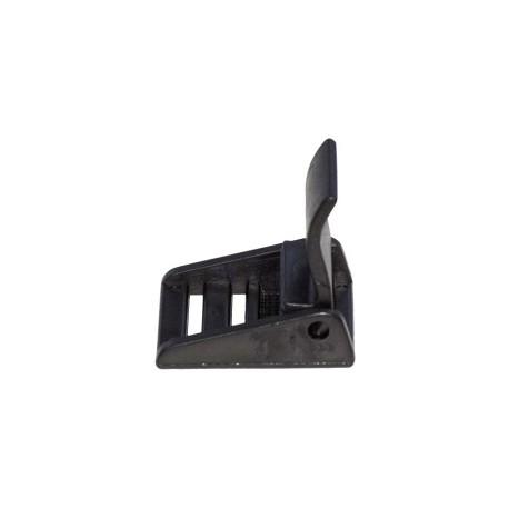 Boucle a Clapet Noir 20 mm