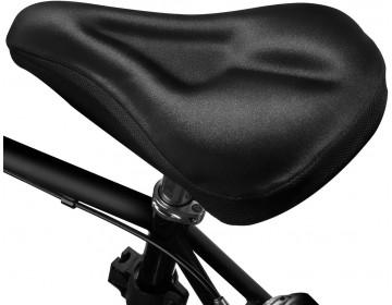 Couvre selle avec coussinet en gel extra confort pour vélo